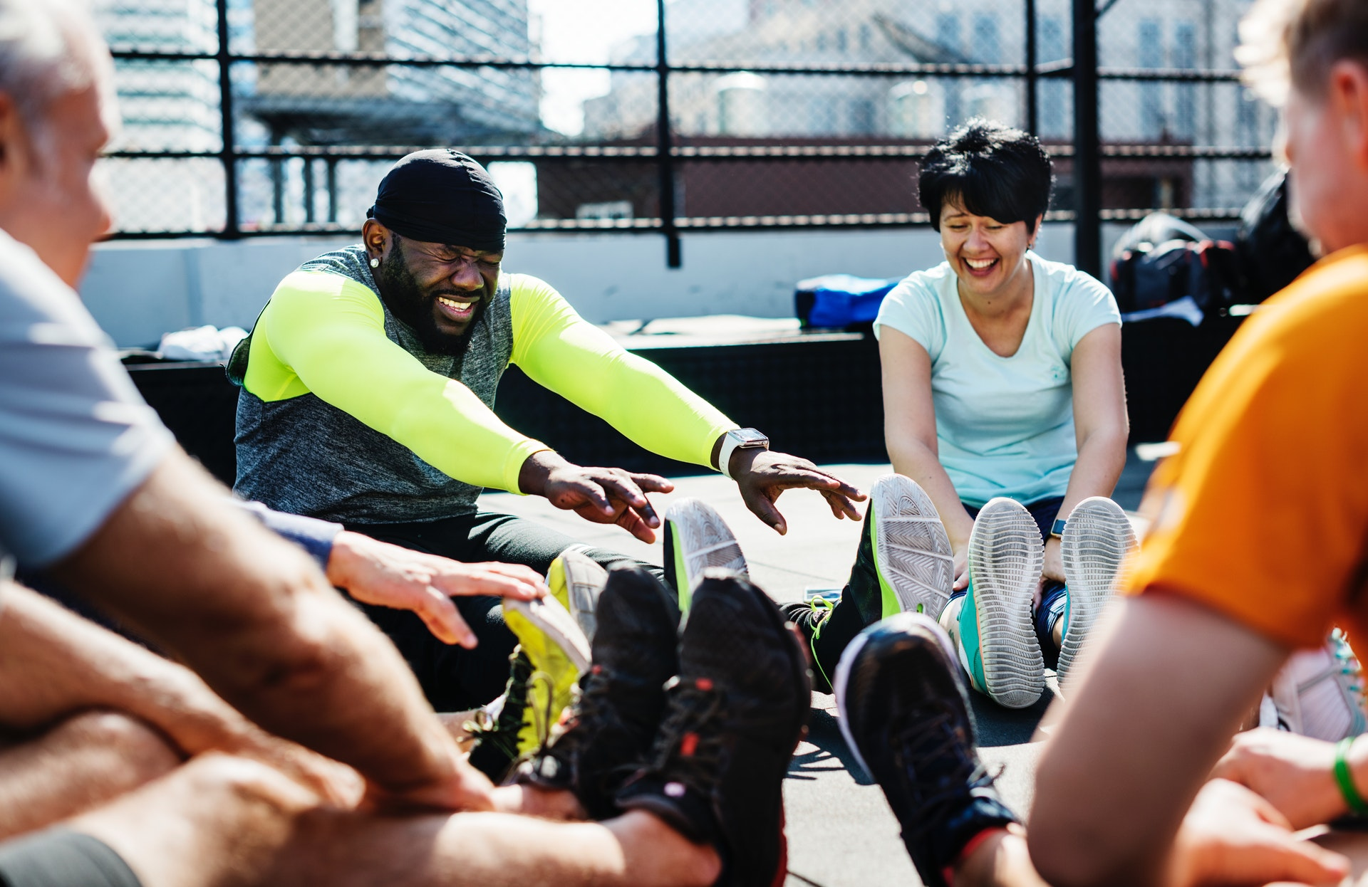 Athletes in need of exercise recovery tools