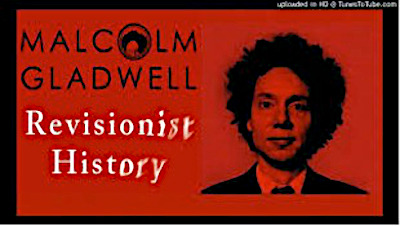 Entertaining and informative on current topics Revisionist History podcast episodes.
