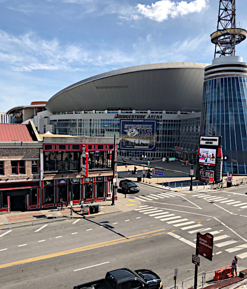 A visit to Broadway and The Bridgestone Arena