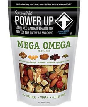 Gourmet vegan gluten free Mega Omega 26 oz bag.