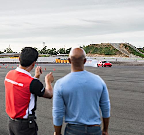 Porsche Driving Experience Instructor