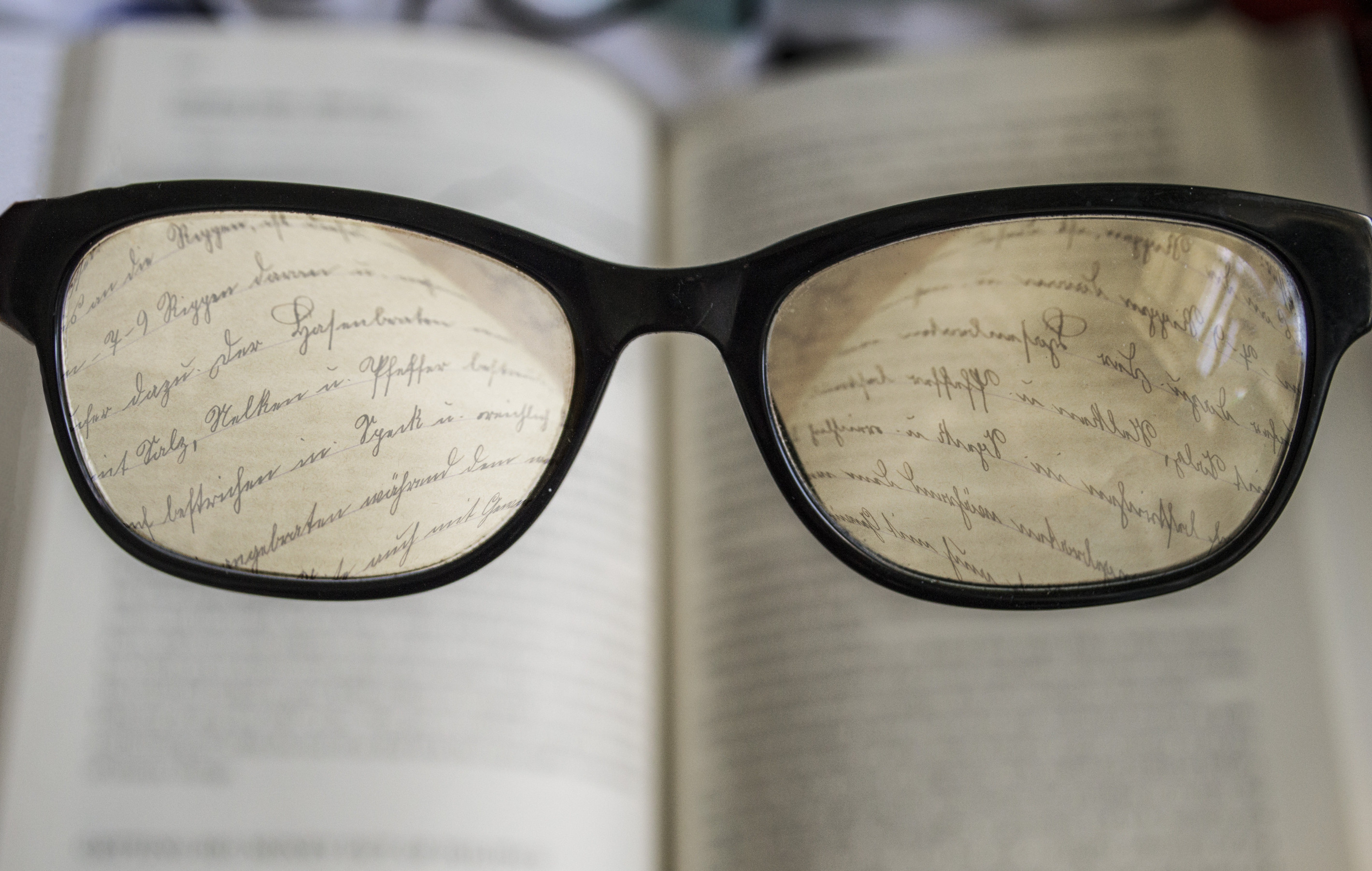 Attractive reading glasses