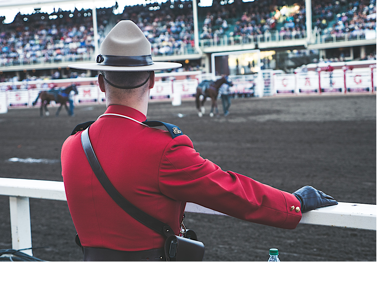 The Calgary Stampede in Alberta Canada