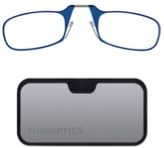 Thin Optics reading glasses in blue