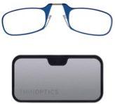 Thin Optics reading glasses in blue