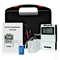 Electrical healing kit for blood flow stimulation.