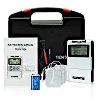 Electrical healing kit for blood flow stimulation.