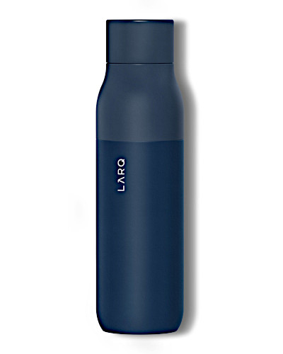 Traveling water or drink bottle that will self clean to keep you healthy and hydrated