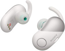 Easy to wear for sports Sony in-ear discreet headphones.