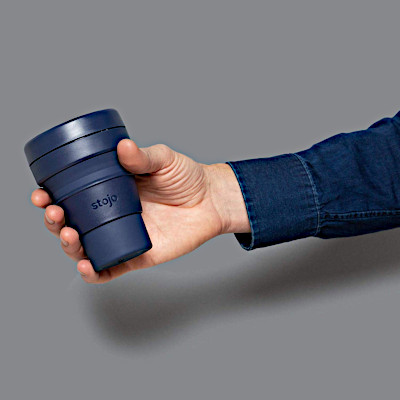 Tall to small convenient coffee or drink reusable cup in variety of colors