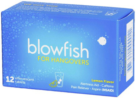 FDA approved formula to relieving hangover symptoms, includes 12 tablets.