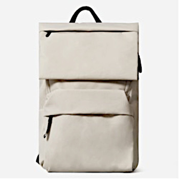 Handle top backpack with zip pouches, light weight.
