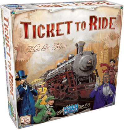 Game of adventure for traveler and train lovers and all ages in the family