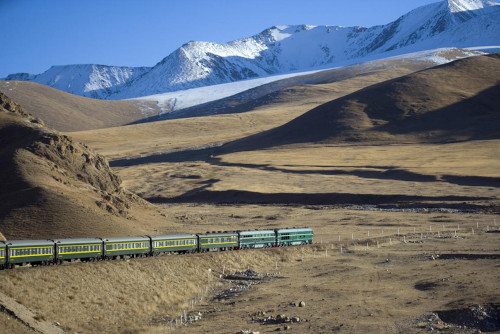 Shangri La Express travels the country side