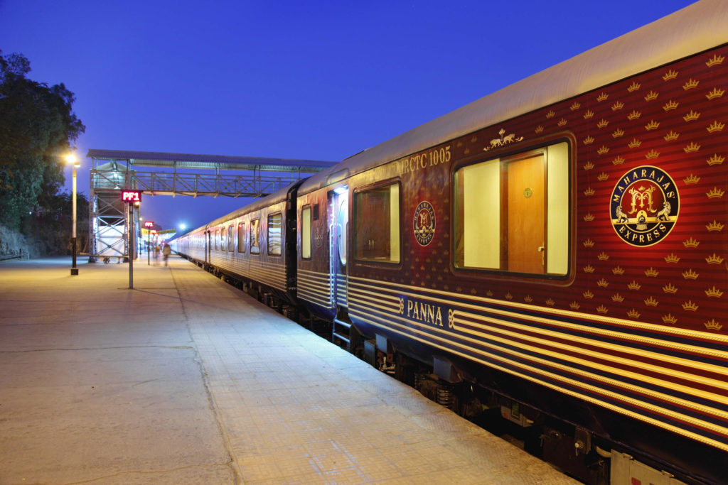 Luxury Train travel on The Beautiful Maharaja Express