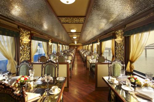 The Maharaja Express Dining Car