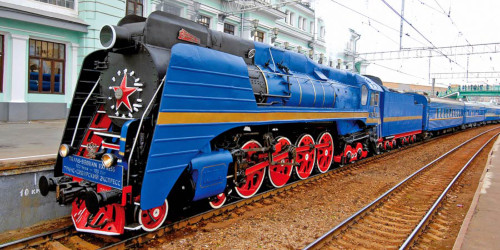 The Luxury Train of the Trans-Siberian Railroad