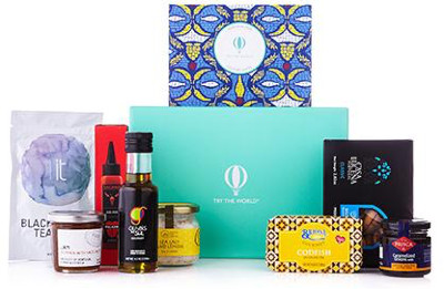 try exotic sauces, dips and treats delivered to your home from around the world