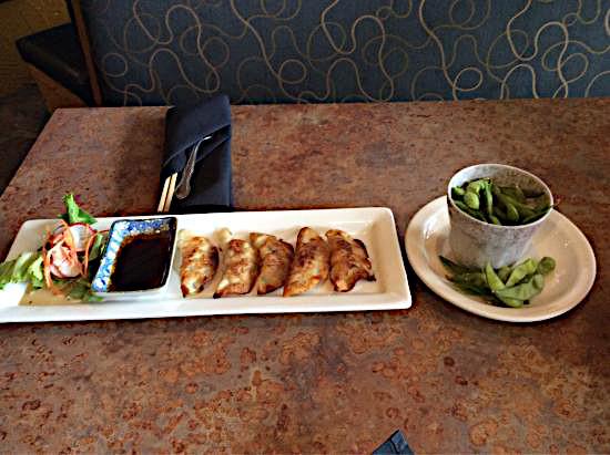 Fine dining at the Madarao Ski Resort, Japan