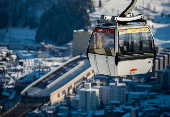 GALA Yuzawa Ski Resort gondola in Japan