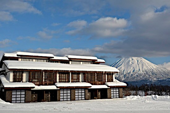 Ski in ski out Kasara Hotel, Japan