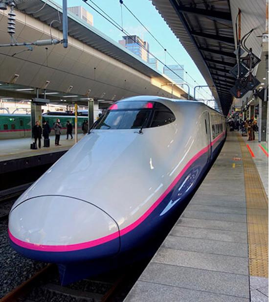 Billet Train from Tokyo to Gala Yuzawa Ski Resort Japan