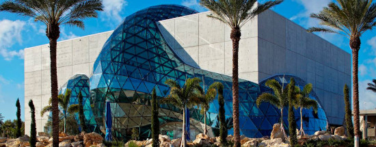 St. Petersburg, Florida is the home of the Dali museum