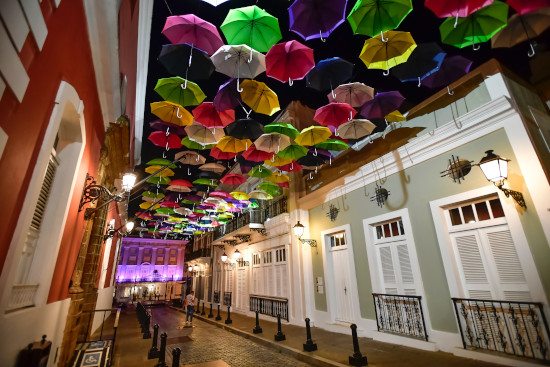 A beautiful art installation San Juan, Puerto Rico