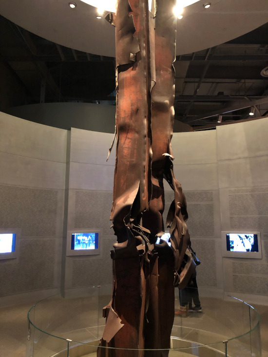 9-11 Memorial within Bush Presidential Library
