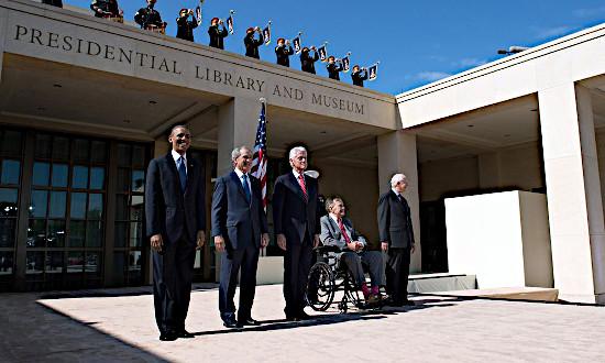 Bush Presidential Library at SMU