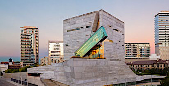 The Perot Museum in Dallas