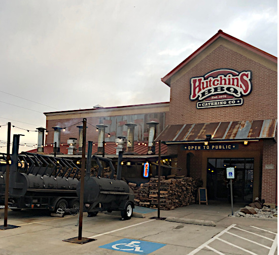 Hutchins BBQ in Frisco TX