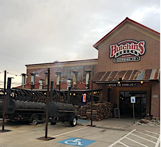 Hutchins BBQ in Frisco TX