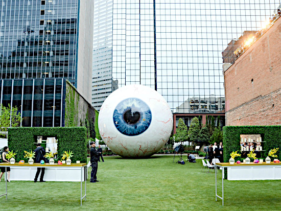 The Giant eyeball in Dallas