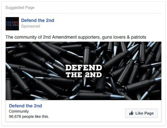 Fake news from Russian Facebook Ads
