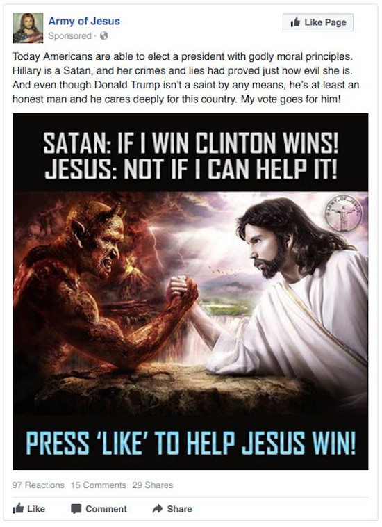 Fake media from Russian Trolls