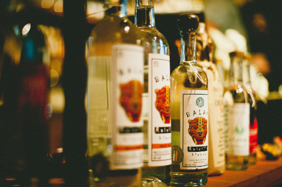 A great selection of Tequila at Sayulita Wine Shop