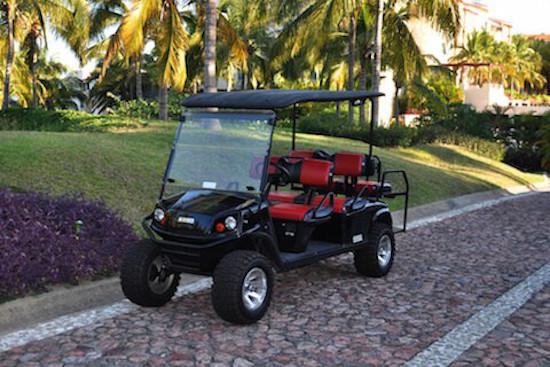 Golf carts from Mita Carts, Punta Mita