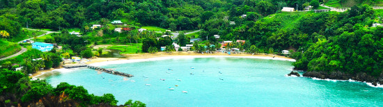 A beautiful bay in Trinidad & Tobago