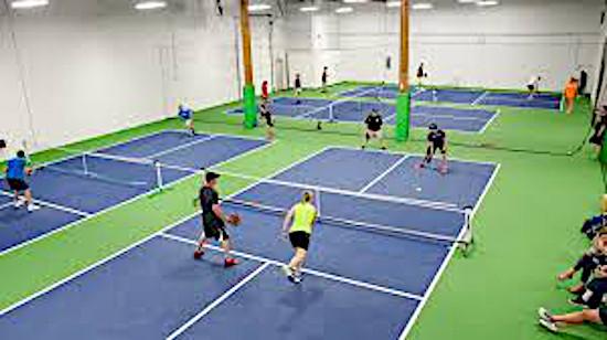 indoor pickleball courts
