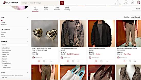 Secrets to selling on Poshmark - Sellers closet