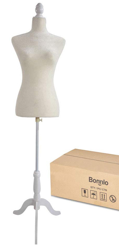 Size 6 clothing form mannequin for display or sewing