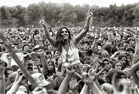 Woodstock 50 years ago