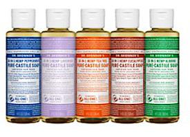 Dr Bonners mild soap