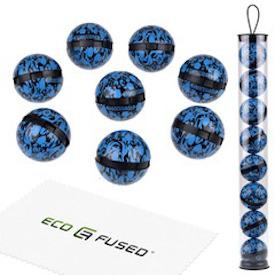 Eco fused odor balls for the gym bag