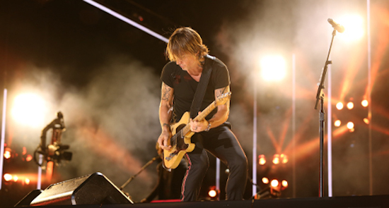 Kieth Urban at CMA Fest, Nashville