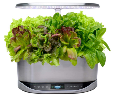 Easy to use indoor herb garden for 9 plants.