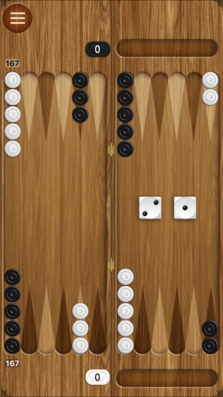 Backgammon - online games for two players
