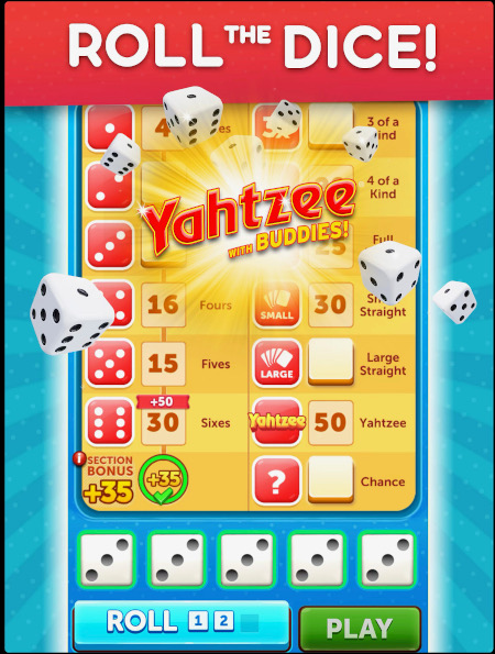 Yahtzee! Online games for multiple players