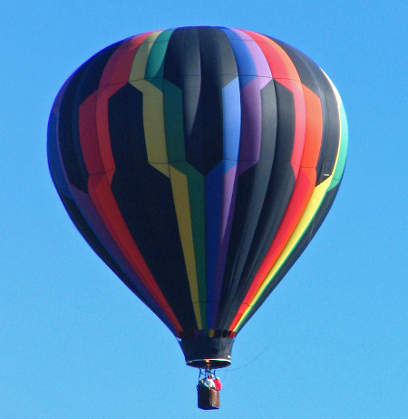 Places to see. Ballooning in Sequim